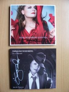 Marianne Rosenberg signierte CD`s