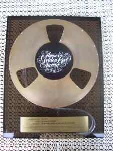 """Crosby, Stills & Nash: Ampex Golden Reel Award for """" Daylight Again """""""