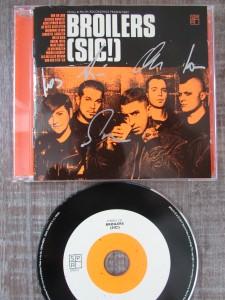 Broilers, signierte CD ( SIC!)